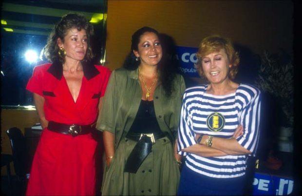 Encarna Sánchez, Isabel Pantoja, Mila Ximénez