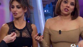 Chenoa y Mónica Cruz se ven las caras en 'El Hormiguero'/Gtres