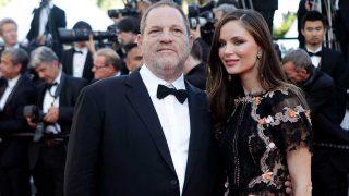 El productor Harvey Weinstein y su exmujer, la diseñadora Georgina Chapman. / Gtres
