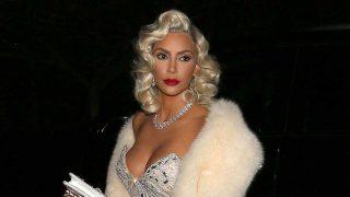 La socialité Kim Kardashian en Halloween. / Gtres