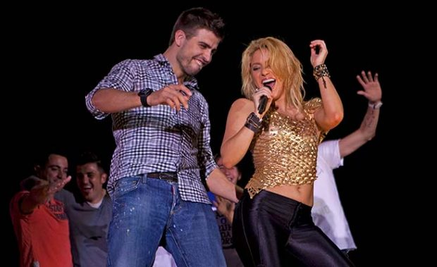 Shakira Piqué baile