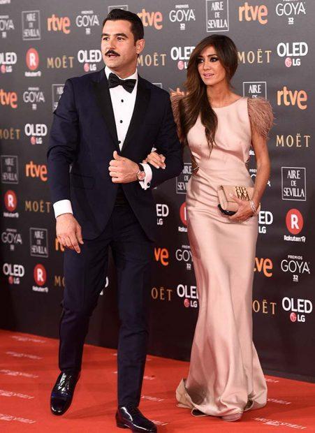 Marta González y Antonio Velázquez en los premios Goya 2018