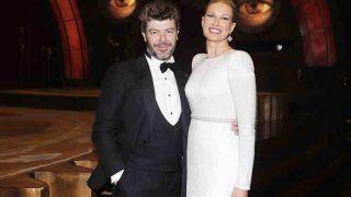 r Anne Igartiburu y Pablo Heras Casado antes de la gala de los Goya /Gtres