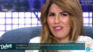 Chabelita durante su entrevista en 'Sábado Deluxe' /Gtres