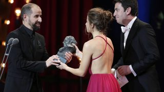 Uno de los instantes de la gala de los premios Goya 2018 /Gtres
