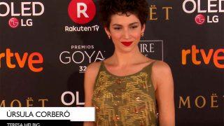 Las peor vestidas de los premios Goya 2018