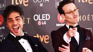 Ernesto Sevilla y Joaquín Reyes han recibido muchas críticas por su presentación de Los Goya / Gtres