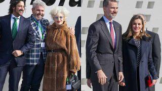 Los reyes Felipe y Letizia en la entrega de las medallas de Oro de las Bellas Artes / Gtres