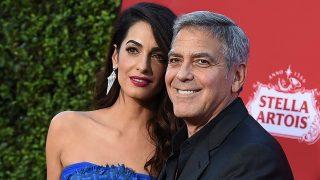 Amal y George Clooney en una imagen de octubre de 2017 / Gtres