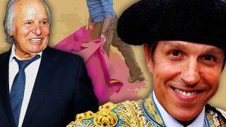 Manuel Benítez 'El Cordobés' y su hijo Manuel Díaz en un fotomontaje de LOOK