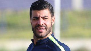 Miguel Torres durante un entrenamiento en Málaga /Gtres