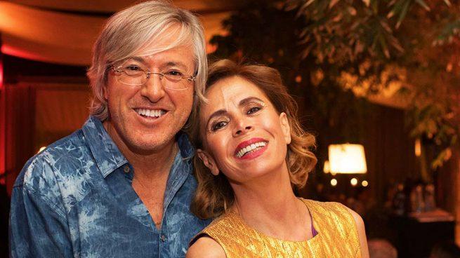 Ágatha Ruiz de la Prada y Alejandro Roemmers