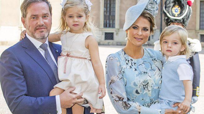 Magdalena de Suecia con su familia / Gtres