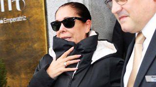Isabel Pantoja abandona su hotel tras denegársele de nuevo el visado / Gtres