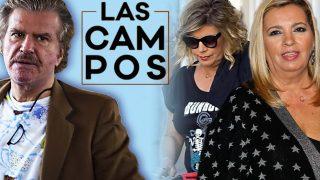 Edmundo Arrocet, Terelu Campos y Carmen Borrego en un fotomontaje de LOOK