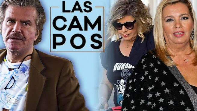 Edmundo Arrocet, Terelu Campos y Carmen Borrego