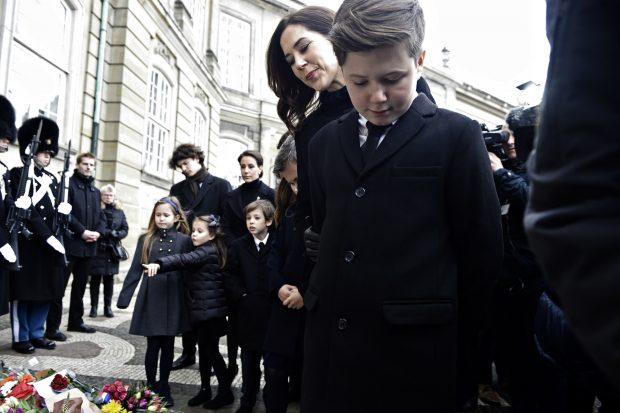 Mary de Dinamarca con sus hijos / Gtres