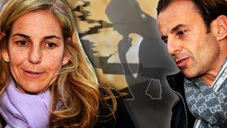 Arantxa Sánchez Vicario y Josep Santacana en un fotomontaje de LOOK