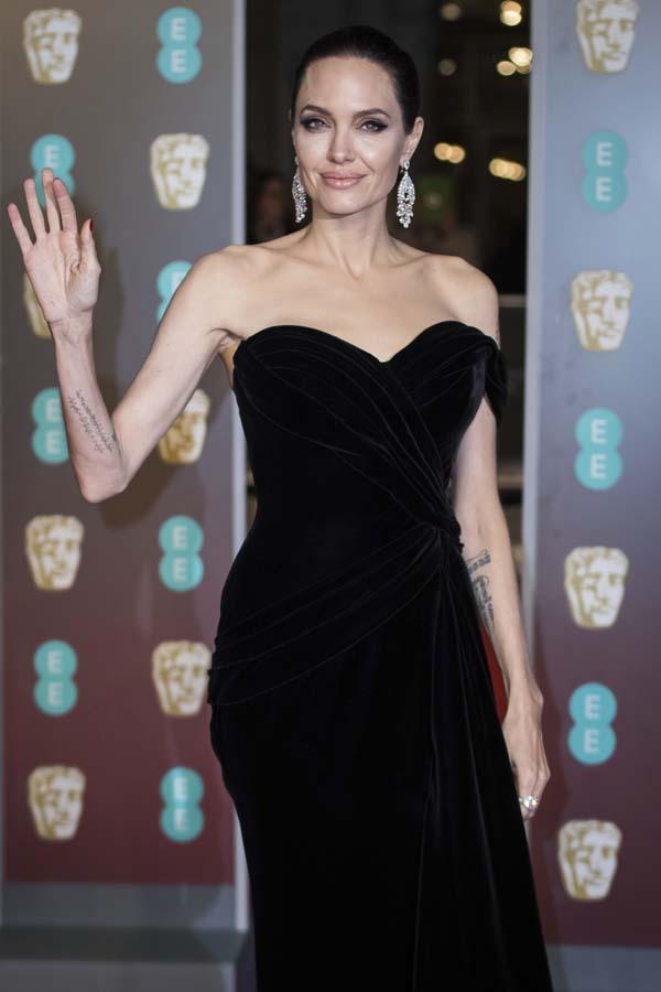 Angelina Jolie Bafta 2018
