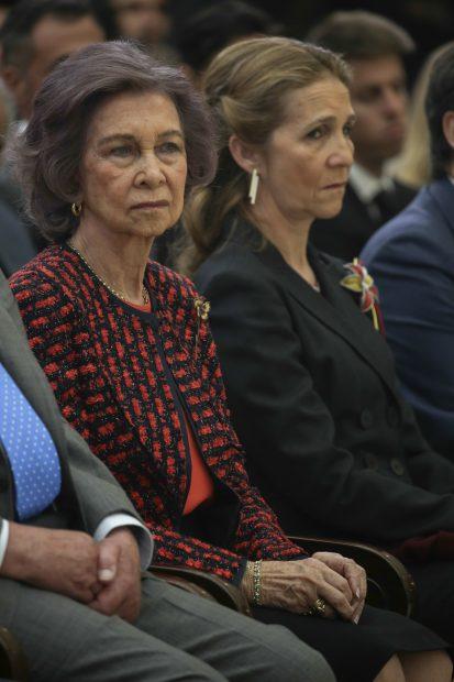 La infanta Elena y la reina Sofía / Gtres