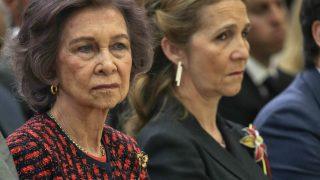 La reina Sofía y la infanta Elena / Gtres