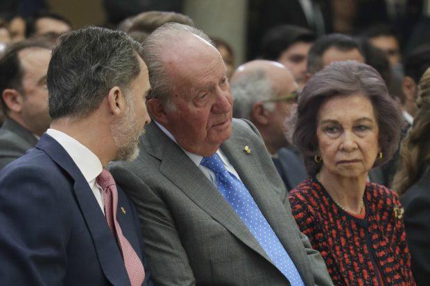 Don Juan Carlos y don Felipe han estado muy cómplices / Gtres