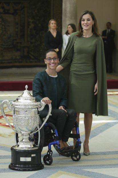 La Reina con Teresa Perales / Gtres