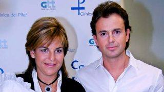 Arantxa Sánchez Vicario y Josep Santacana en 2009 / Gtres