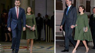 GALERÍA: Así es el exitoso y misterioso look de la reina Letizia / Gtres