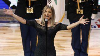 Fergie realizó una interpretación demasiado 'sensual' del himno de EE.UU / Gtres