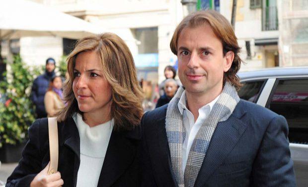 Josep Santacana y Arantxa Sánchez Vicario