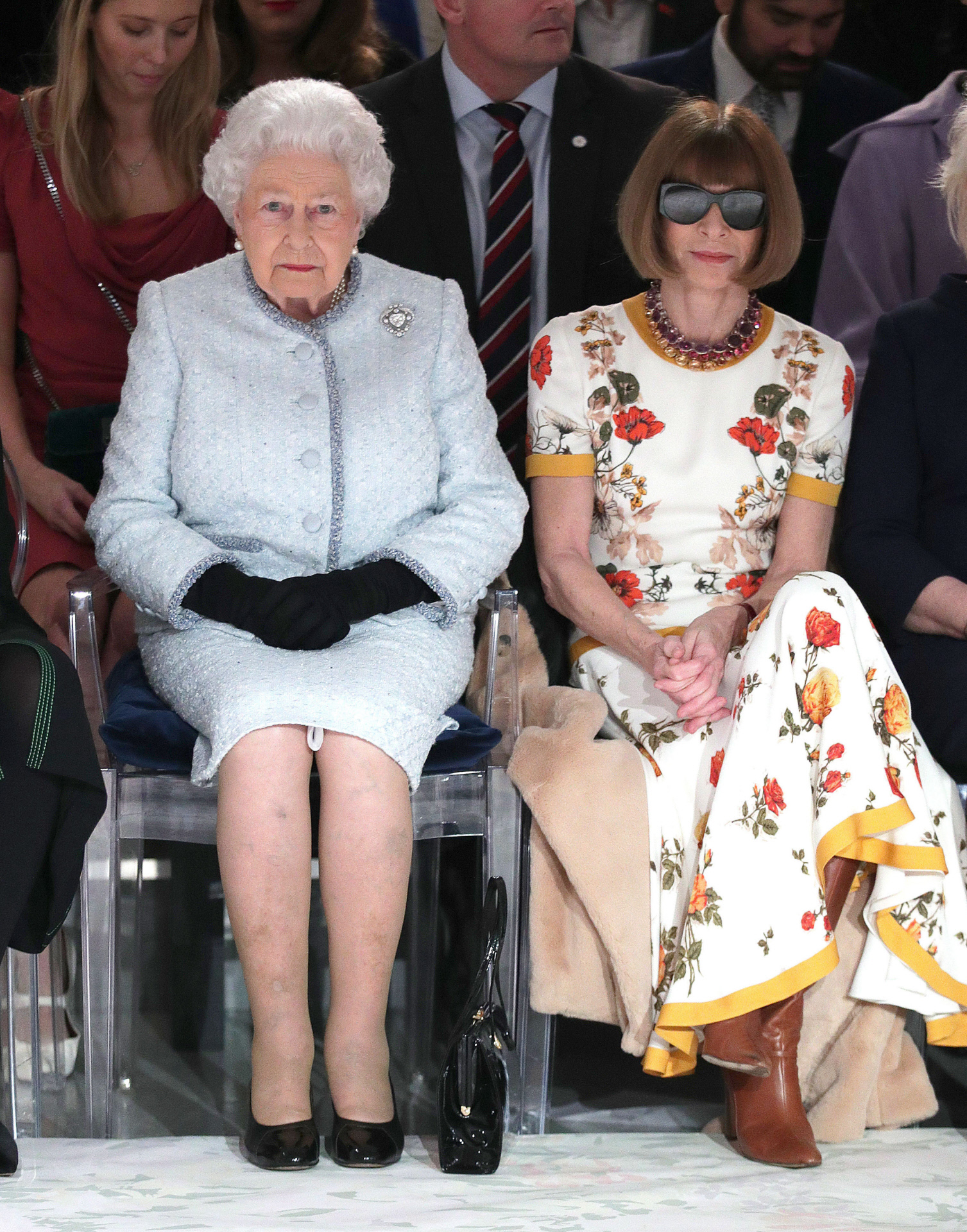 Anna Wintour Isabel II