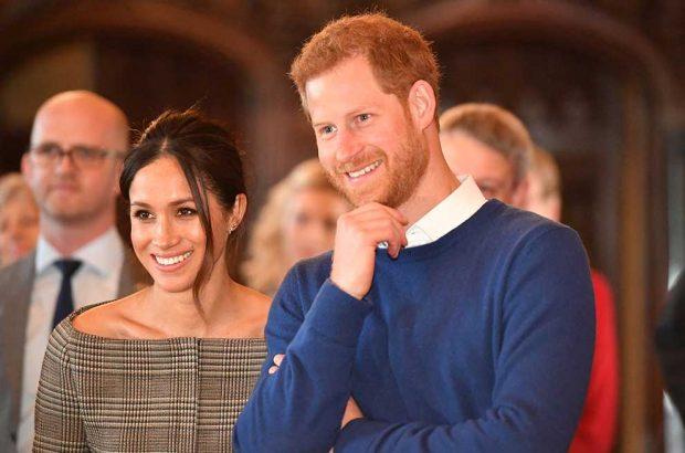 Meghan Markle y el príncipe Harry Vestido Novia