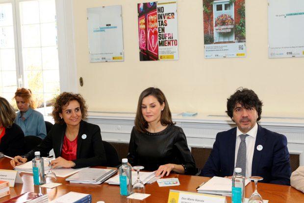 Doña Letizia 'saca las garras' contra la violencia de género