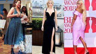 La modelo Chrissy Teigen, la actriz Jennifer Lawrence y la cantante Stefflon Don. / Gtres