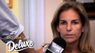 Arantxa Sánchez Vicario durante su encuentro con 'Sábado Deluxe' /Telecinco