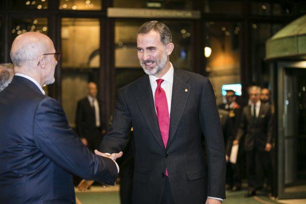 El 'zasca' del Rey en su regreso a Cataluña