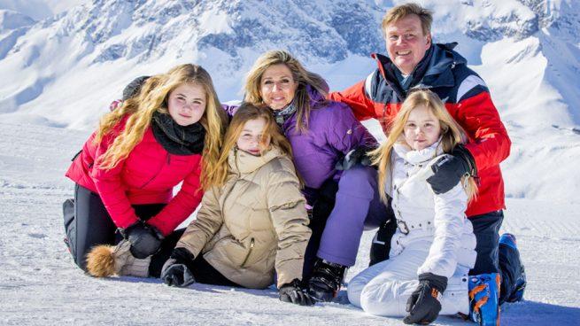 Los Reyes de Holanda, Máxima y Guillermo, y sus hijas / Gtres