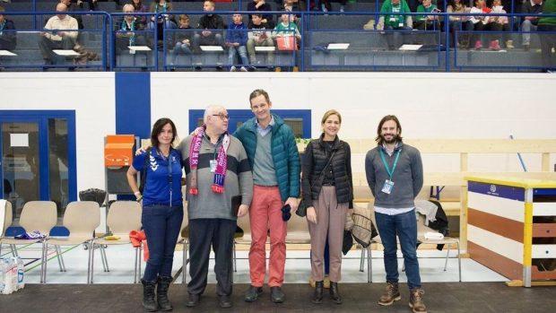 La infanta Cristina e Iñaki Urdangarin reaparecen en un partido de balonmano en Suiza