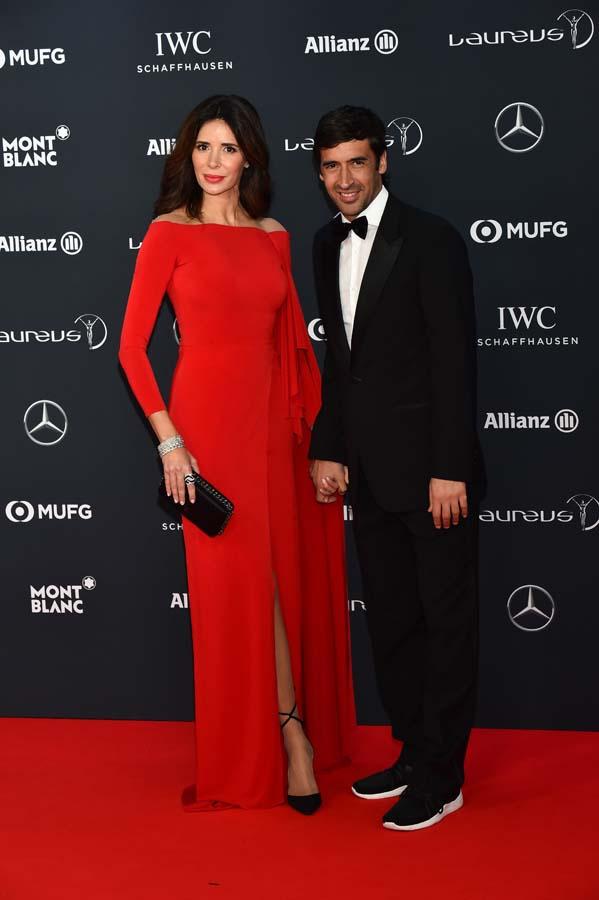 Premios Laureus 2018 Raúl González y Mamen Sanz