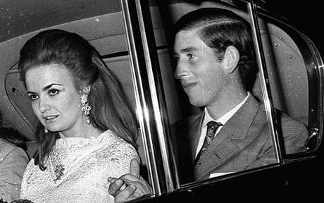 Carlos de Inglaterra y Lucía Santa Cruz