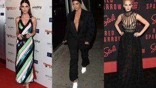 Juana Acosta, Kim Kardashian y Jennifer Lawrence. / Gtres