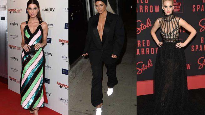 Juana Acosta Kim Kardashian Jennifer Lawrence Mejor Peor Vestidas Semana