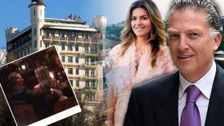 IMÁGENES EXCLUSIVAS: Así fue la romántica estancia de Elías Sacal en Suiza
