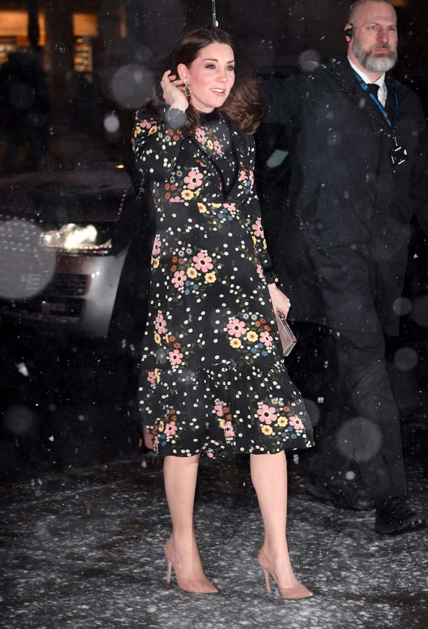 looks premama kate middleton estampados primavera