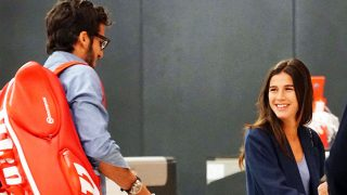 Las miradas de complicidad entre Sandra y Feliciano son inevitables/ Gtres