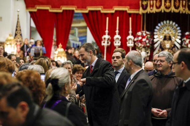 Don Felipe a las puertas del templo / Gtres