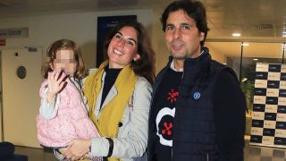 Francisco Rivera, Lourdes Montes y su hija acuden a visitar a la hija de Cayetano / Gtres