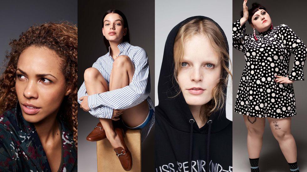 Las cuatro mujeres reales de la nueva campaña / Zalando