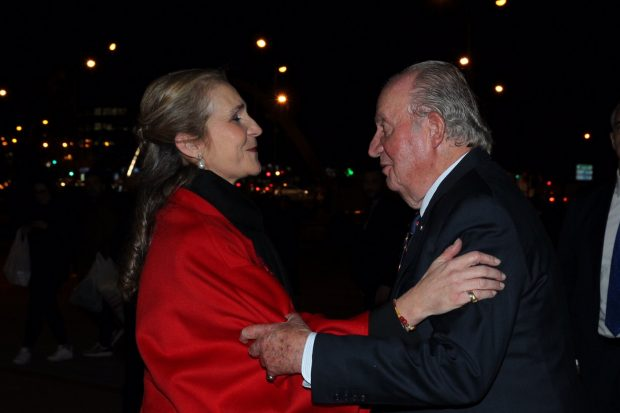 El rey don Juan Carlos con la infanta doña Elena / Casa Real